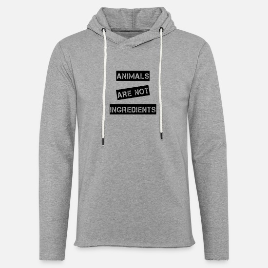 Liberation Hoodies & Sweatshirts - Animals are not ingredients - Unisex Sweatshirt Hoodie heather grey