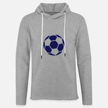Ballon De Foot football - Sweat-shirt à capuche léger unisexe