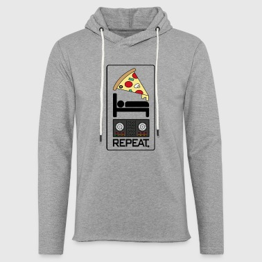 Repeat Eat Sleep EDM Repeat Music Gift Gift Idea - Light Unisex Sweatshirt Hoodie
