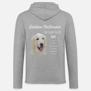 Golden Retriever Golden Retrievers - Sweat-shirt à capuche léger unisexe