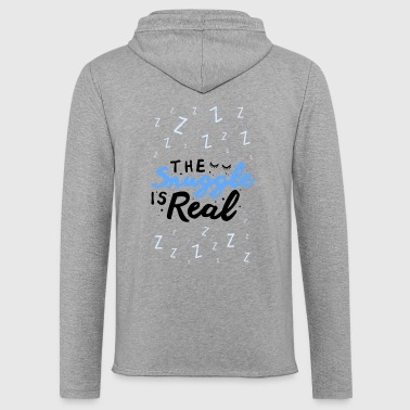 Snuggle The Snuggle Is Real - Light Unisex Sweatshirt Hoodie