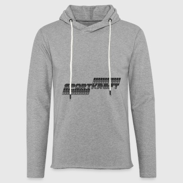 sport black power - Light Unisex Sweatshirt Hoodie