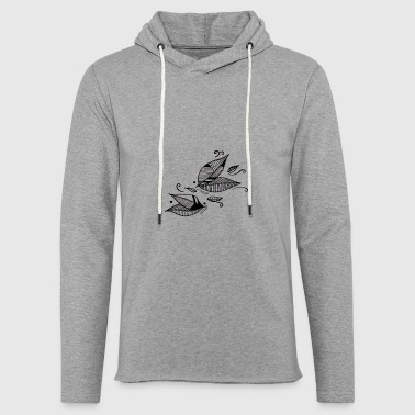 Leaves in the wind - Light Unisex Sweatshirt Hoodie
