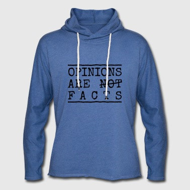 opinions - Sweat-shirt à capuche léger unisexe