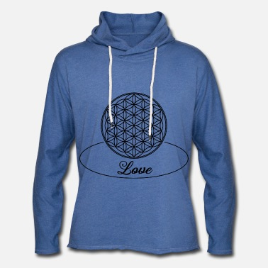 Geometry Flower Of Life Love 1 - Unisex Sweatshirt Hoodie