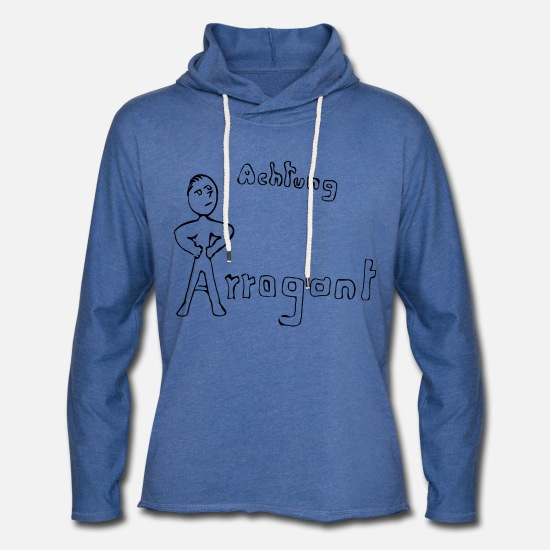 Gift Idea Hoodies & Sweatshirts - Arrogant - Unisex Sweatshirt Hoodie heather blue