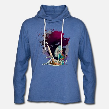 Officialbrands Zorro Don Diego Avenger And Nobleman Painting - Lichte hoodie unisex