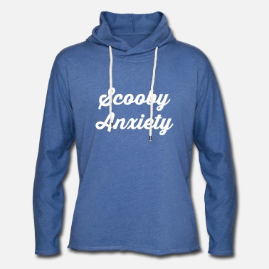 Scooby Scooby Anxiety - Logo White - Unisex Sweatshirt Hoodie