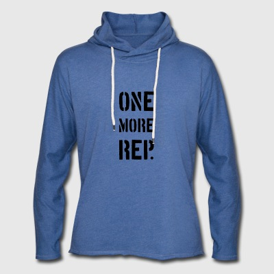 ONE MORE REP - Leichtes Kapuzensweatshirt Unisex