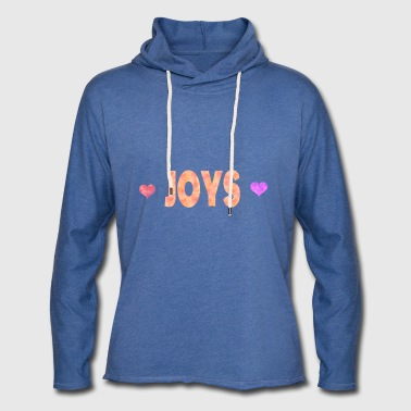 joies - Sweat-shirt à capuche léger unisexe