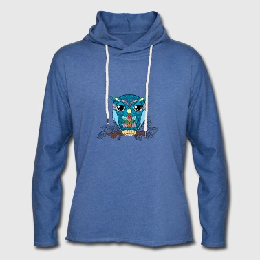 lucky lucky owl - Light Unisex Sweatshirt Hoodie