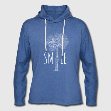palm beach SMILE - Sweat-shirt à capuche léger unisexe