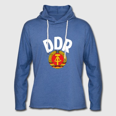 DDR - German Democratic Republic - Est Germany - Sudadera ligera unisex con capucha