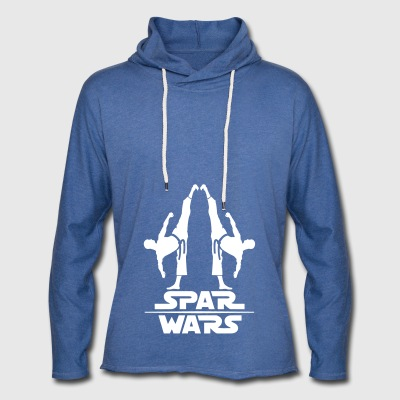 Spar Wars Martial Art - Light Unisex Sweatshirt Hoodie
