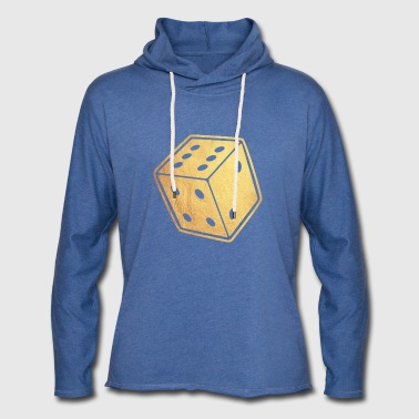 gold dice - Light Unisex Sweatshirt Hoodie