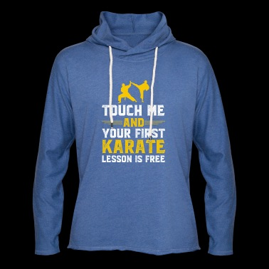 Gift for karate fighter, poison karate fighter - Light Unisex Sweatshirt Hoodie