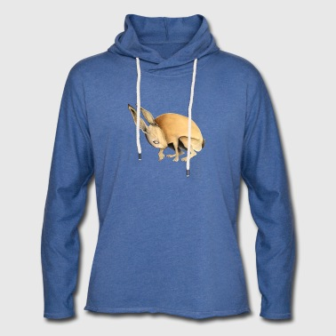Hare. Scared. - Light Unisex Sweatshirt Hoodie