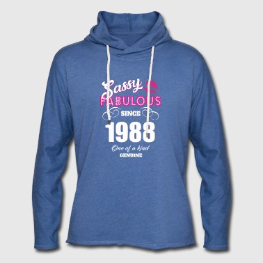 Sassy Fabulous Since 1988 - Light Unisex Sweatshirt Hoodie