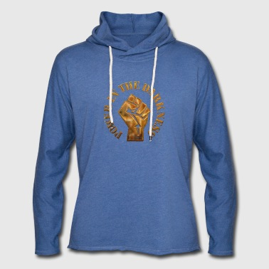 Power in the darkness - Light Unisex Sweatshirt Hoodie