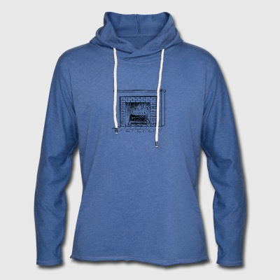 fireplace - Light Unisex Sweatshirt Hoodie