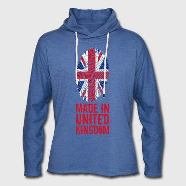 Made in United Kingdom / United Kingdom - Light Unisex Sweatshirt Hoodie
