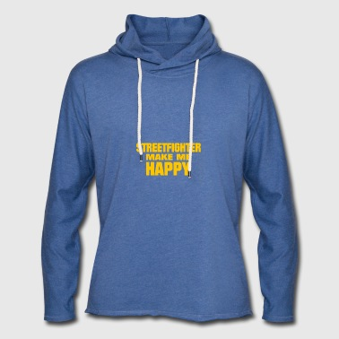 Streetfighter Make Me Happy - Light Unisex Sweatshirt Hoodie
