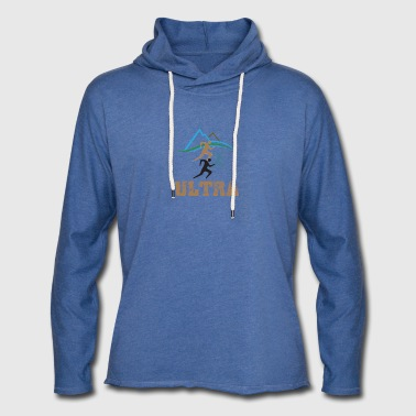 Ultra Running - Light Unisex Sweatshirt Hoodie