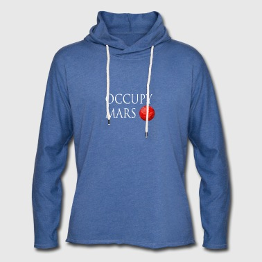 Occupy March Space - Light Unisex Sweatshirt Hoodie