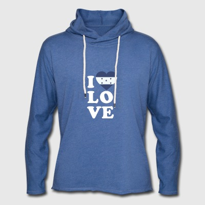 I love Honduras - Light Unisex Sweatshirt Hoodie