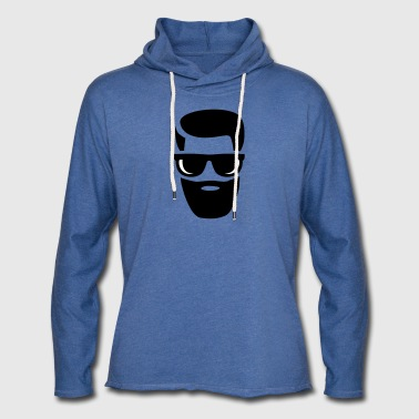 barbe - Sweat-shirt à capuche léger unisexe