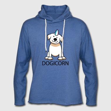 Dogicorn - Light Unisex Sweatshirt Hoodie