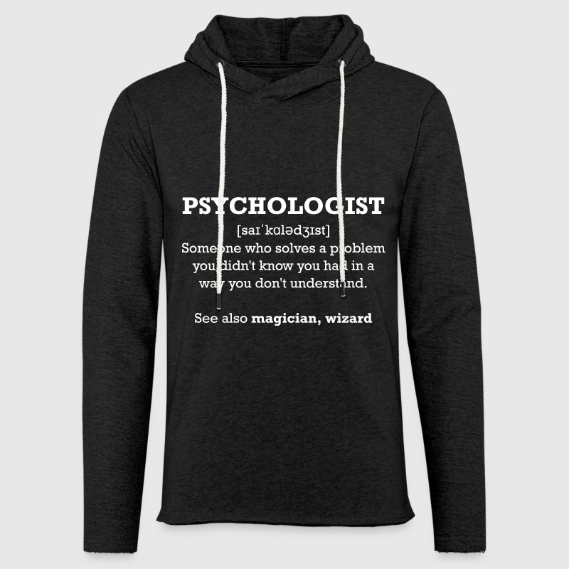 Psychologue - assistant - Sweat-shirt à capuche léger unisexe