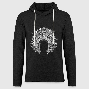 Chieftain's Headdress - Light Unisex Sweatshirt Hoodie
