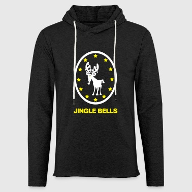 Jingle Bells - Leichtes Kapuzensweatshirt Unisex