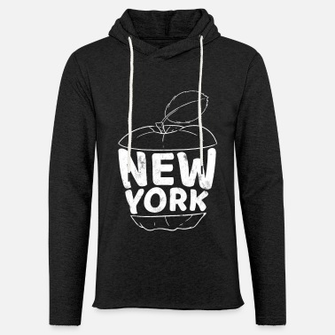 Hudson New York apple - Light Unisex Sweatshirt Hoodie