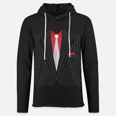 Krawatte Krawatte Anzug Einstecktuch - Leichtes Kapuzensweatshirt Unisex. Unisex  Kapuzen-Sweatshirt c56524cdde