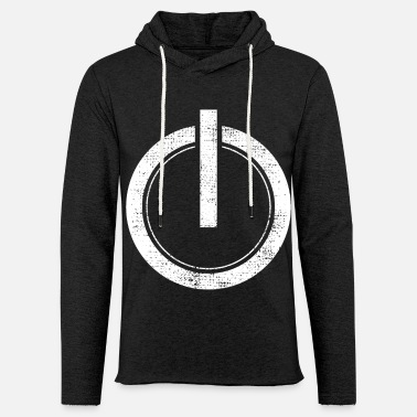 Pc Vintage Power On Button Gamer PC - Light Unisex Sweatshirt Hoodie