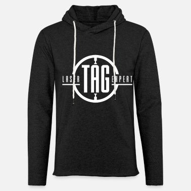 Present Team game laser tag laser tag player - Unisex Sweatshirt Hoodie