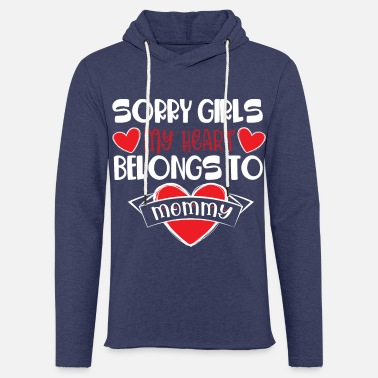 Ehe Sorry Girls my Heart I Sorry Mädels mein Herz - Unisex Kapuzen-Sweatshirt