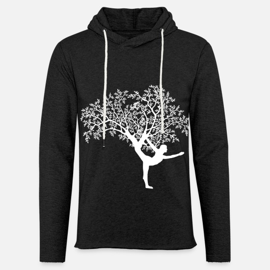 Yoga Hoodies & Sweatshirts - yoga - Unisex Sweatshirt Hoodie charcoal grey