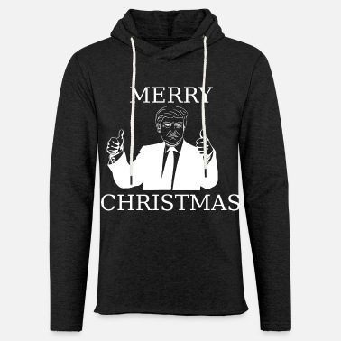 Christmas Trump merry christmas from trump - Unisex Kapuzen-Sweatshirt