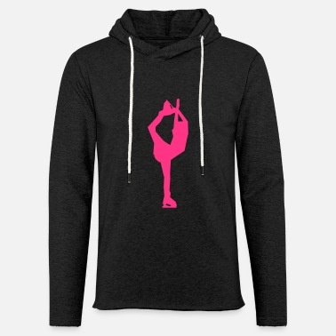 Patinage patinage artistique - Sweat-shirt à capuche léger unisexe