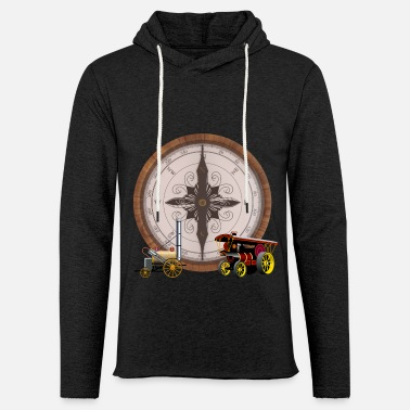 Steam Engine Steam Compose Steam Train & Traction Engine - Unisex Sweatshirt Hoodie