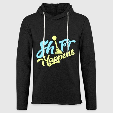 Shift Happens - Car Shirt - Leichtes Kapuzensweatshirt Unisex