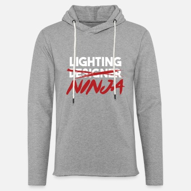 Lightning Lighting Ninja Light Engineer Profession Job Gift - Unisex Sweatshirt Hoodie