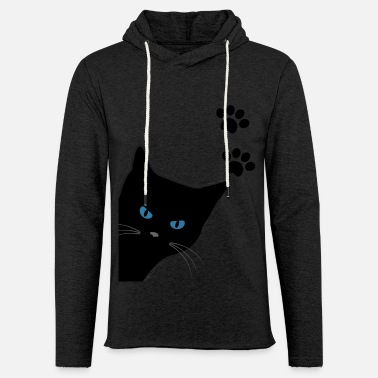 Gestiefelterkater kitty with blue eyes - Unisex Sweatshirt Hoodie