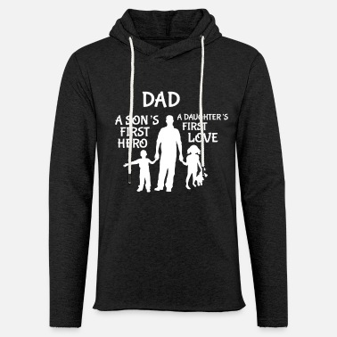 Daddy Daddy Family Daughter Son Father's Day Papi Dad - Light Unisex Sweatshirt Hoodie