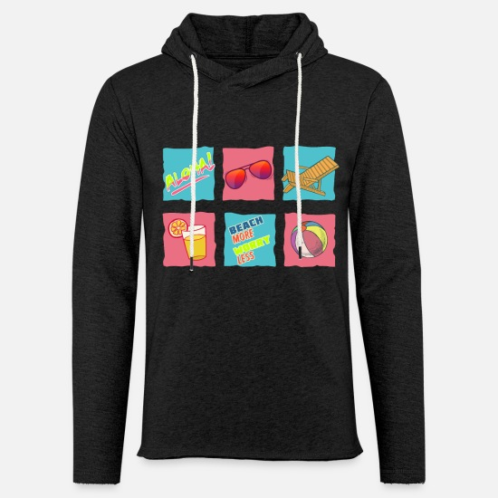 Promenade Hoodies & Sweatshirts - Beach - Unisex Sweatshirt Hoodie charcoal grey