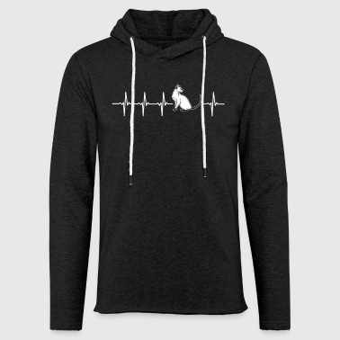 Seal Original Modern Siamese Cat Gift Idea - Light Unisex Sweatshirt Hoodie
