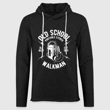 Rap Old School Old School - Sweat-shirt à capuche léger unisexe